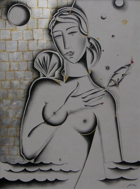 Ferdinand Pire, « La naissance de Vénus »